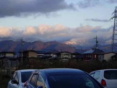 28 11 長野 山の吹雪