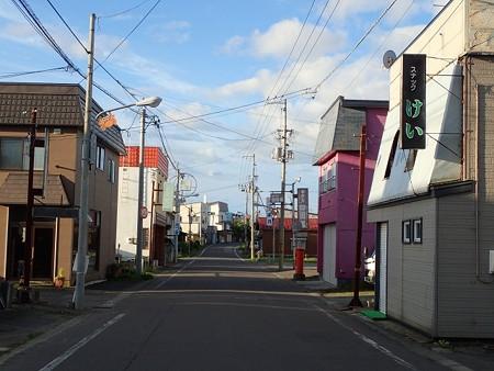 28 SW 北海道 長万部温泉 町並み 3