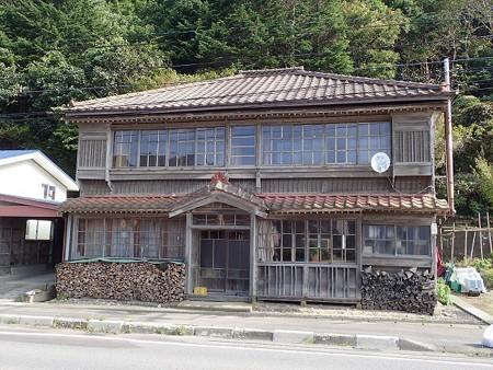 北海道 恵山近くの民家