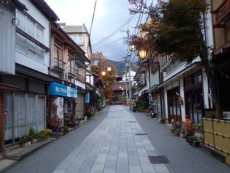 長野 渋温泉 町並み 2