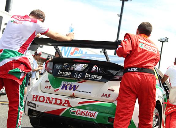 WTCC カストロール・ホンダ・ワールド・ツーリングカー・チーム シビック