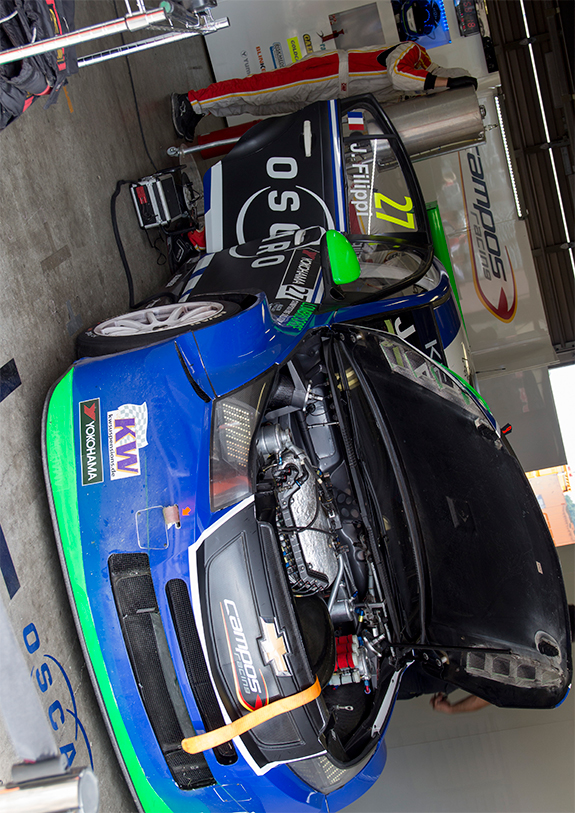 シボレー RML クルーズ TC1(Chevrolet RML Cruze) カンポス・レーシング(Campos Racing), #27 ジョン・フィリッピ(John Filippi)