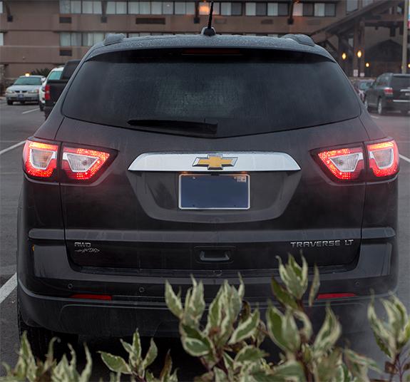 Chevrolet Traverse (シボレー・トラバース) LT 2016 リアビュー