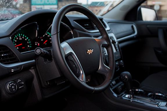 Chevrolet Traverse (シボレー・トラバース) LT 2016 インテリア全景