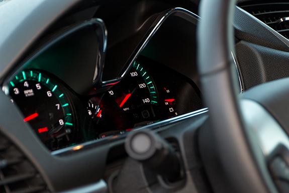 Chevrolet Traverse (シボレー・トラバース) LT 2016 インパネ