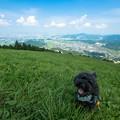 米の山展望台♪