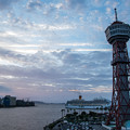Photos: 博多港の夕景♪