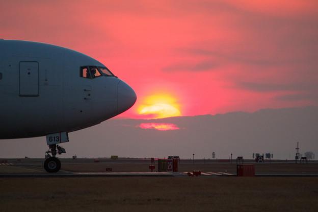 熊本空港夕景♪3