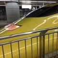 写真: 黄色新幹線