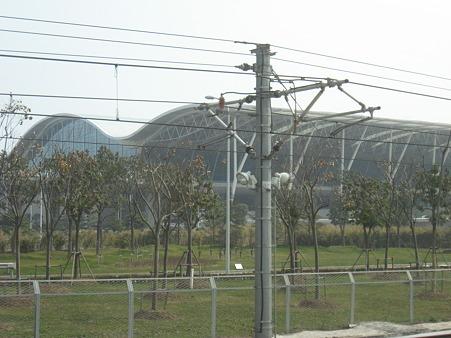 15分で浦東空港へ到着