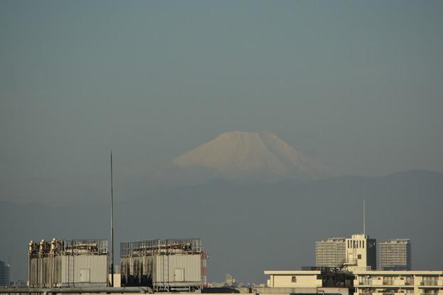 初冠雪の富士山(20141016)