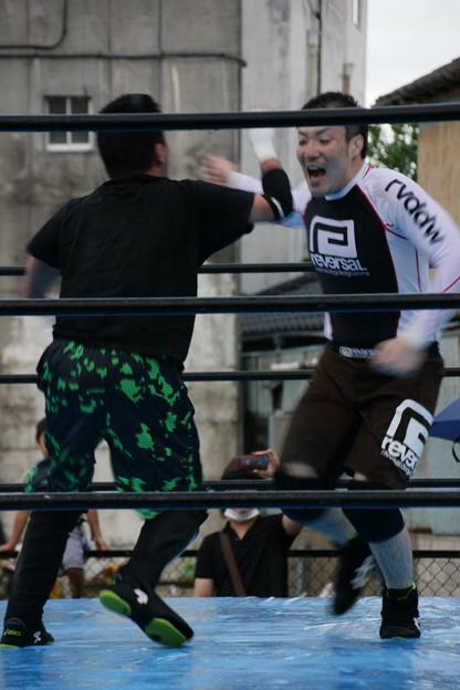 Photos: 第5試合  常陸プロレス