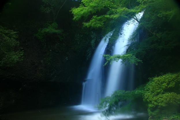 Photos: 月待の滝