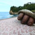 写真: 茨城県北芸術祭 250  高戸海岸