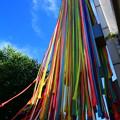 写真: 茨城県北芸術祭 376  ニット・インベーダー