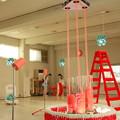 写真: 茨城県北芸術祭 377  ニット・インベーダー