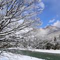 写真: 雪国