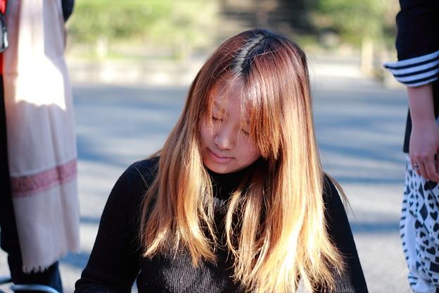 Photos: 輝く髪