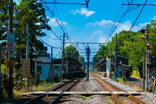 Photos: 夏を経て線路は続く  ~Via summer~