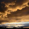 Photos: 荒ぶる夕日