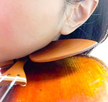 東京・中野・練馬・江古田、ヴァイオリン・ヴィオラ・音楽教室<br /> あご当て