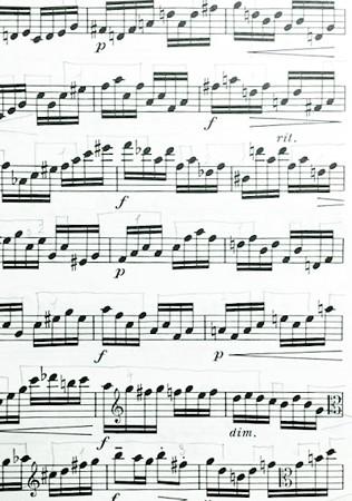 東京・中野・練馬・江古田、ヴァイオリン・ヴィオラ・音楽教室 デタシェの弾き方