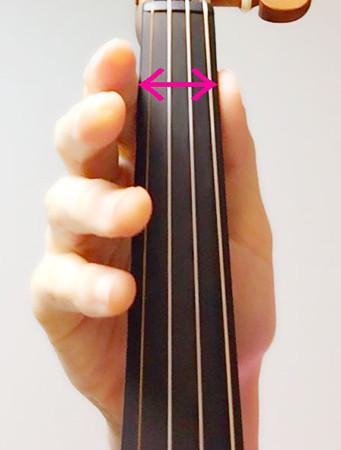 セカンドポジションの位置2 東京・中野・練馬・江古田、ヴァイオリン・ヴィオラ・音楽教室