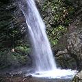 男滝の滝壺
