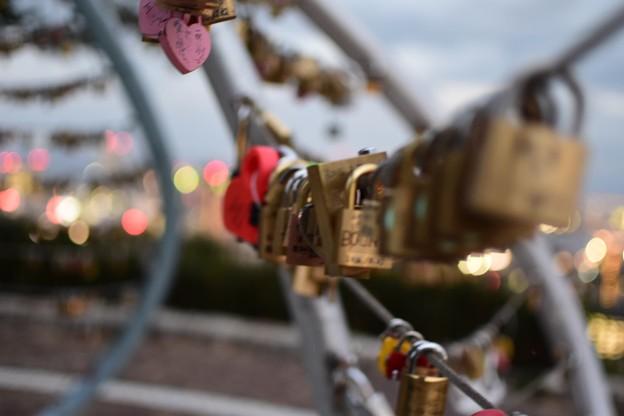 愛の南京錠