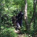 写真: ドローンに見つかって撃破される防衛軍