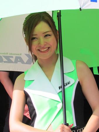 鈴鹿8耐 柳川明 渡辺一樹 藤原克昭 KAWASAKI ZX-10R Team GREEN カワサキ IMG_0440