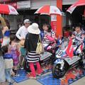 写真: 岡崎静夏 HONDA NSF250R Kohara MFJ 全日本ロードレース J-GP3 SUPERBIKE もてぎ jrr IMG_8220