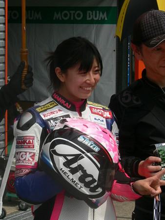 岡崎静夏 HONDA NSF250R Kohara MFJ 全日本ロードレース J-GP3 SUPERBIKE もてぎ jrr P1340643