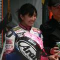写真: 岡崎静夏 HONDA NSF250R Kohara MFJ 全日本ロードレース J-GP3 SUPERBIKE もてぎ jrr P1340643