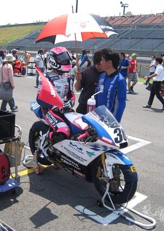 岡崎静夏 HONDA NSF250R Kohara MFJ 全日本ロードレース J-GP3 SUPERBIKE もてぎ jrr IMG_7985
