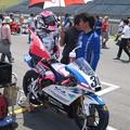 写真: 岡崎静夏 HONDA NSF250R Kohara MFJ 全日本ロードレース J-GP3 SUPERBIKE もてぎ jrr IMG_7985