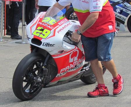 2 29 Andrea IANNONE Pramac Ducati Japan  motogp motegi もてぎ 2014 IMG_1959