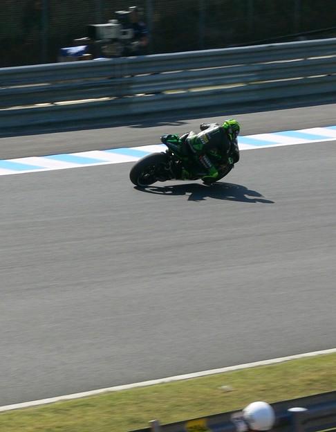 写真: 2 Pol ESPARGARO  Monster Yamaha Tech 3 Yamaha MotoGP もてぎ P1370330