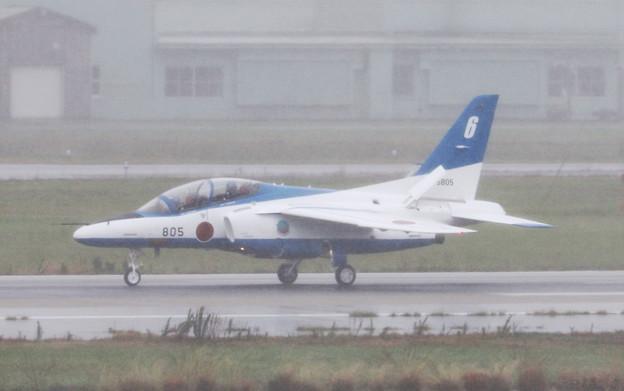 ブルーインパルス6号機(2016/09/18 小松)