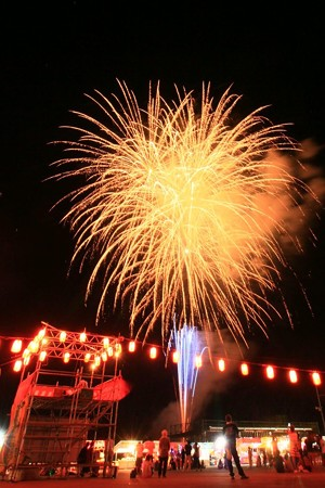 久之浜 浜の夏祭り